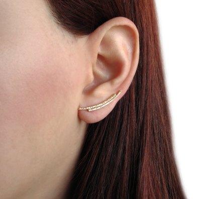 Minimalistični uhani (25 evrov)