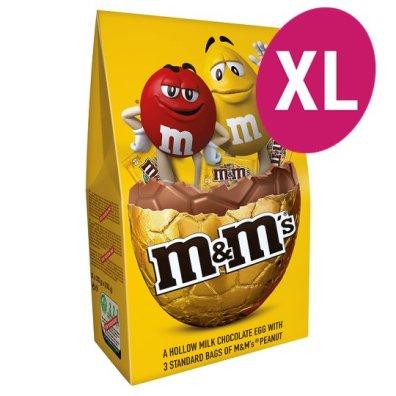 M&M Peanut Luxury Easter Egg and Chocolate