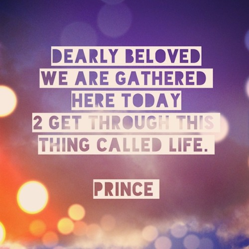 Dearly Beloved Prince