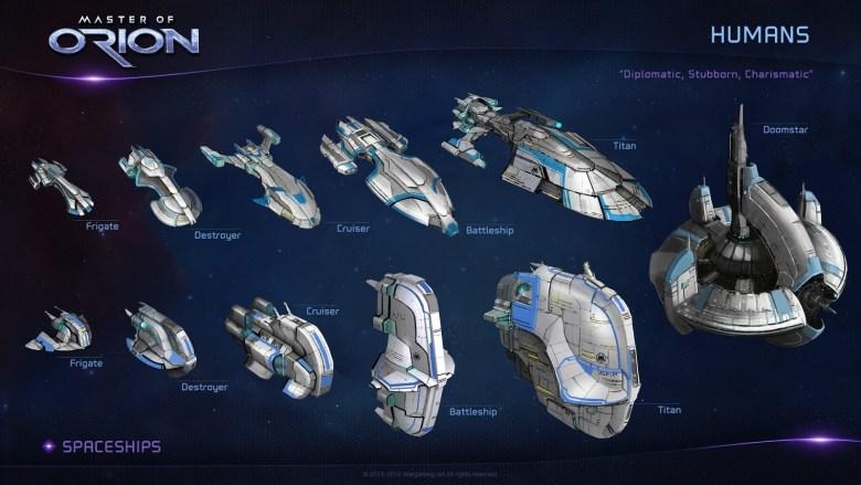 MOO screens human ships