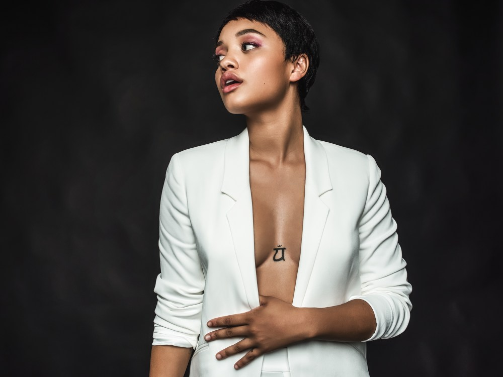 Kiersey Clemons © Dwayne Campbell for Heed Magazine Inc creative direction by Latasha Henderson-Robinson styling by LooksByLunden (Lunden Olin II) makeup by Samuel Paul hair by Randy Stodghill