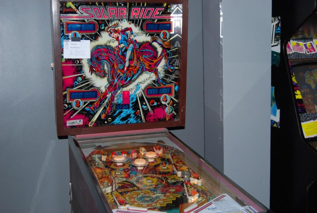 solar ride pinball arcade