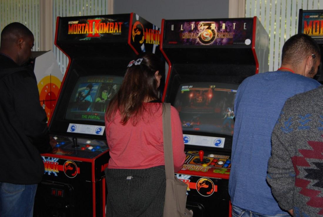 Mortal Kombat 2 and 3 arcade