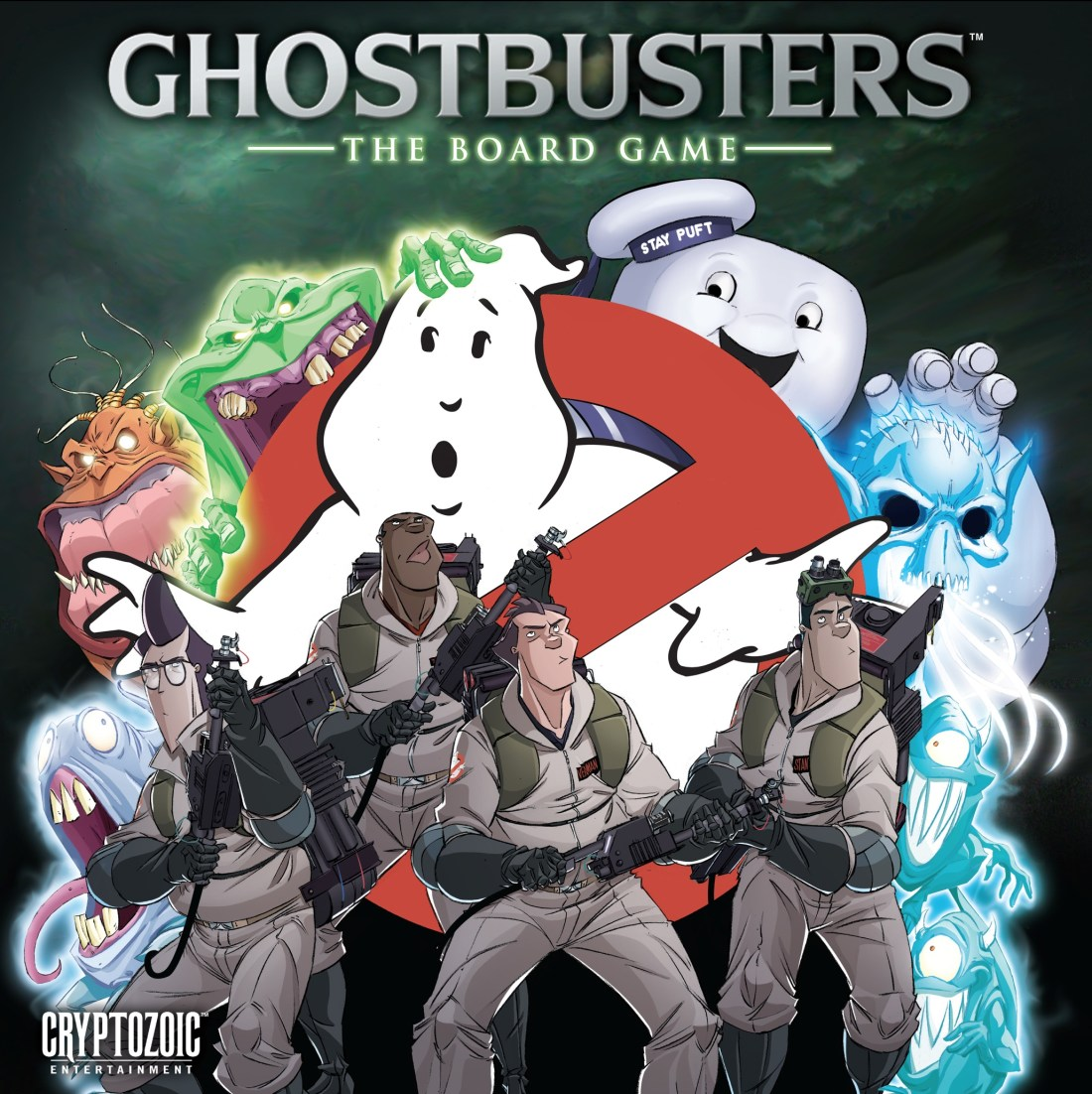 Ghostbusters The Board Game cover