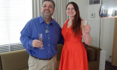 Jeanne & Sagy Champagne Do
