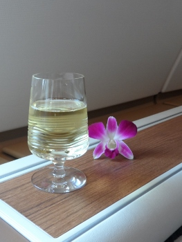 Thai Airways First Class A380 Dom Perignon