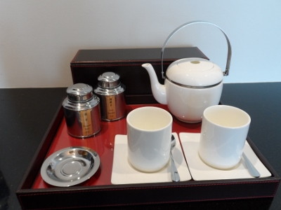 Grand Hyatt Macau Twin Suite Tea Making