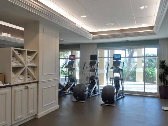 Omni Amelia Island Plantation Resort fitness room