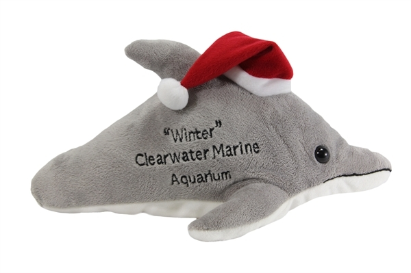 plush_holiday_winter__no tail clearwater marine aquarium