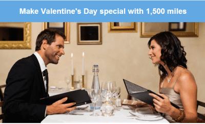 1500 miles valentines day