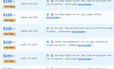 airfarewatchdog cheapest fares from home airport