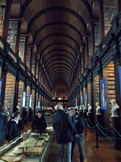 Trinity College Tour Old Library Long Room