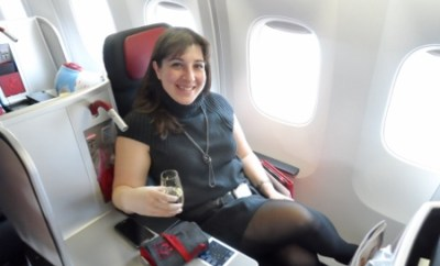 Keri Austrian Airlines Business Class