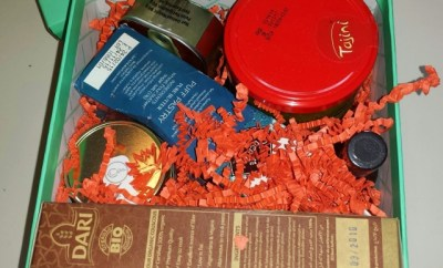 Try the World Review Marrakesh Box contents