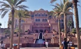 Emirates Palace Exterior Abu Dhabi