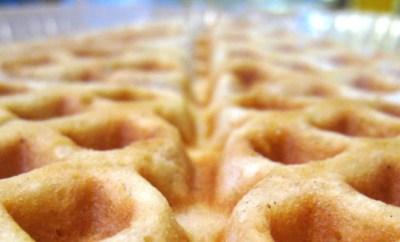Homemade_waffle_closeup
