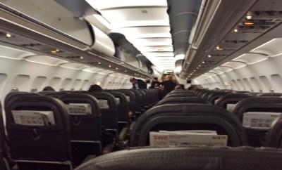 Swiss Air Economy CTA-ZRH plane