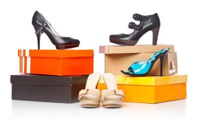 heels sandals shoe boxes