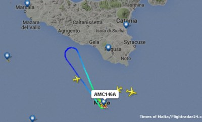 Air Malta Flight Returns for Passengers