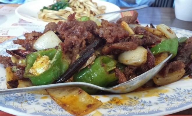 Hong Kong Palace Chinese Food DC Cumin Lamb