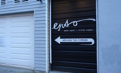 Enso Winery Review Portland Wineries corner sign