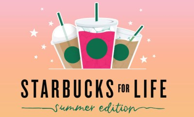 Starbucks for Life Summer Edition