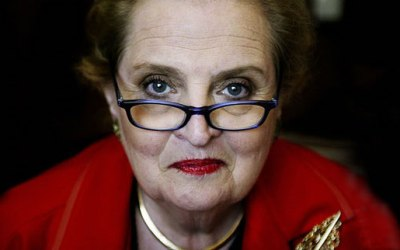 Women who Paved the Way: Tea with Madeleine Albright