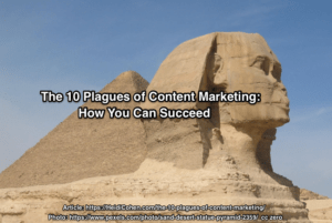 content marketing plagues
