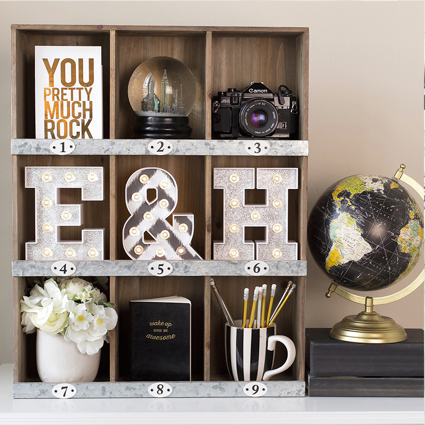 use a shelf to create a mini gallery vignette @heidiswapp