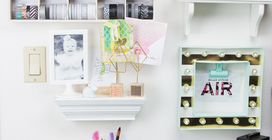 Studio Gallery Wall by Jennifer Evans_Featured