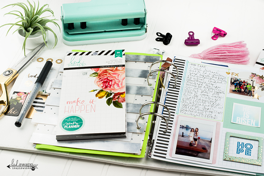 My Memory Planner pages - March 2016 | @MaggieWMassey for @HeidiSwapp