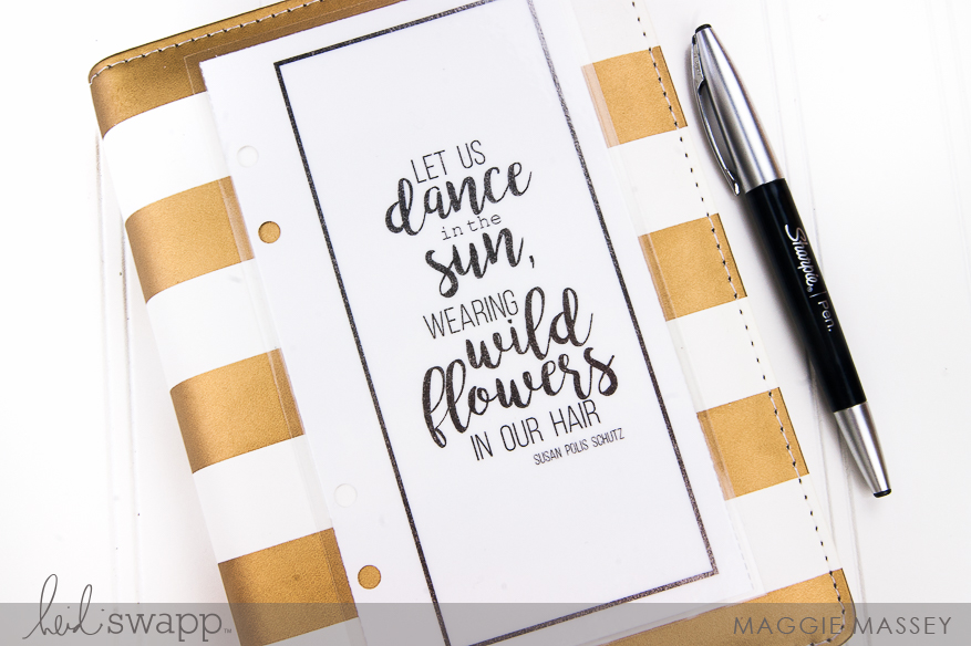 My Memory Planner :: May 2016   @MaggieWMassey for @HeidiSwapp