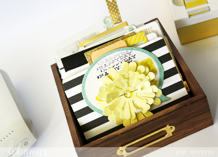 @kimjeffress for @heidiswapp Memory Dex tray +instax collection