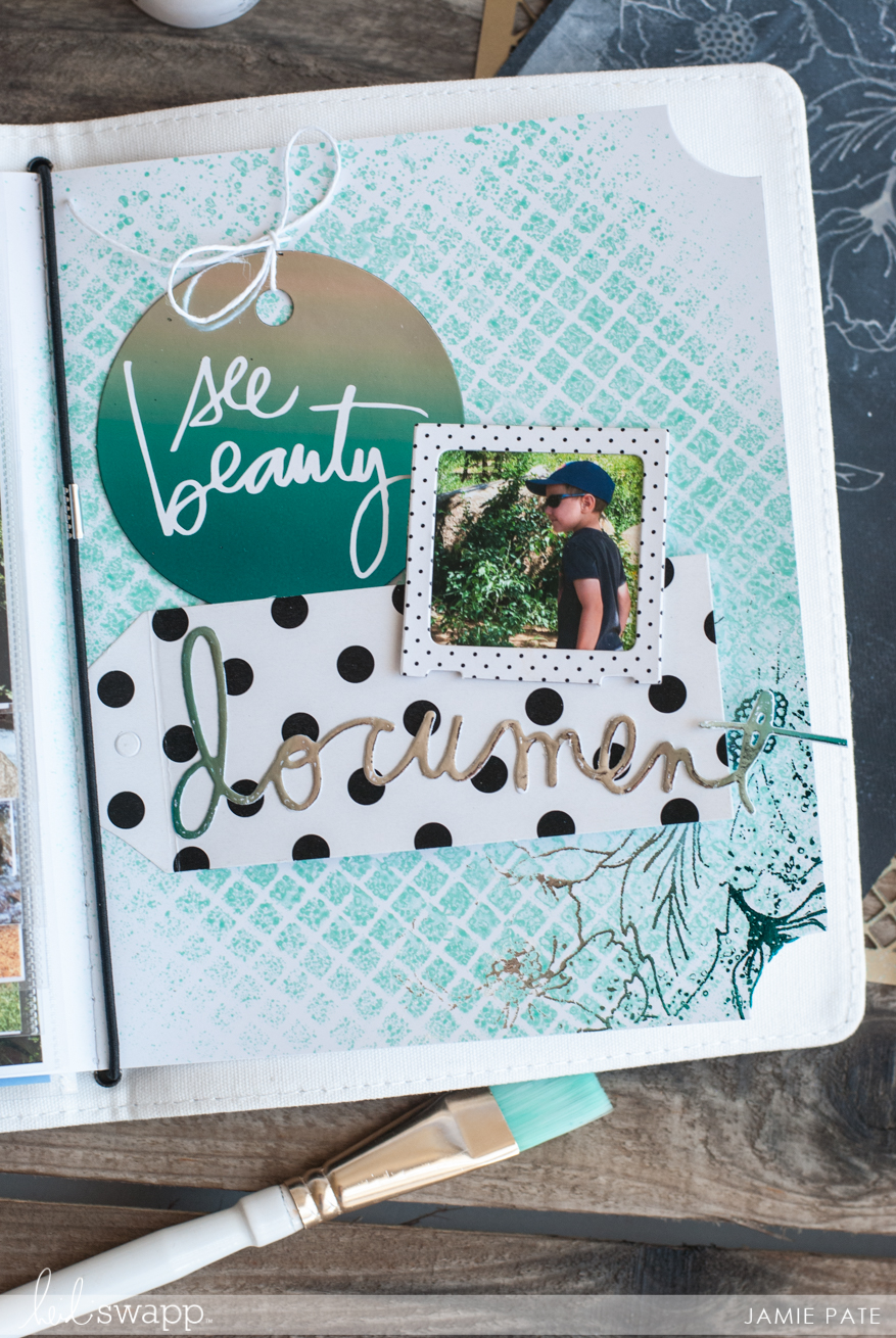 Summer Minc Journal | @jamiepate for @heidiswapp