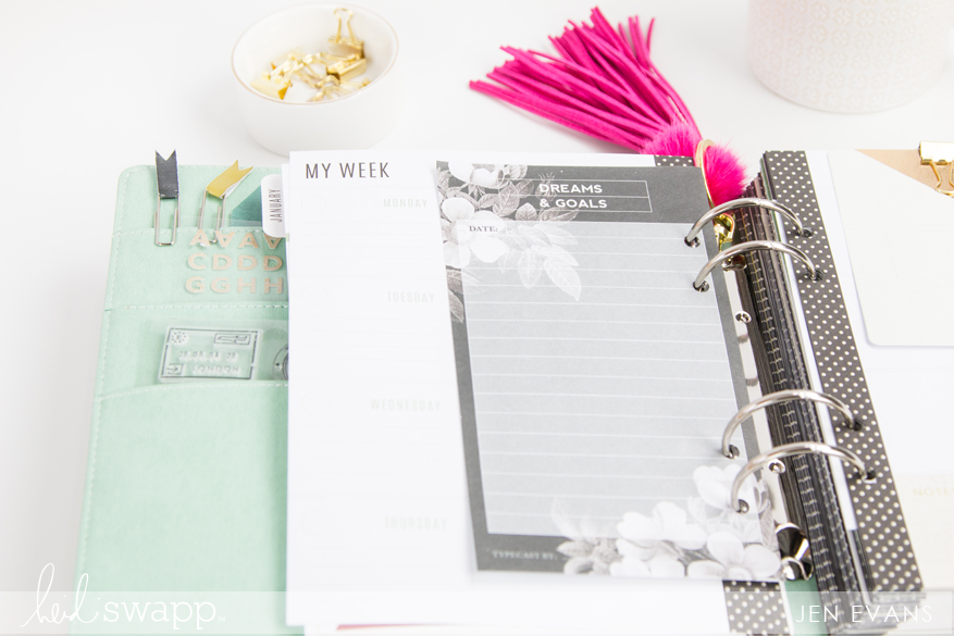 5 ways to use your planner for building success in 2017 by @createoften for @heidiswapp