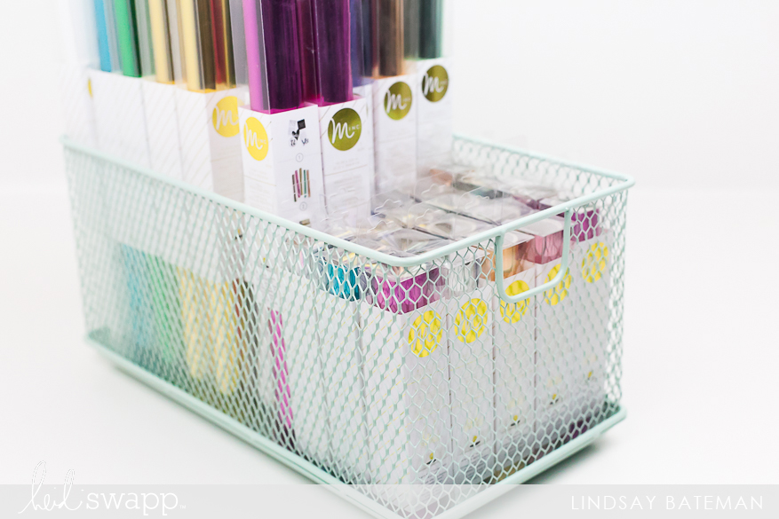 Organizing & Storing Heidi Swapp Supplies I @lindsaybateman for @heidiswapp