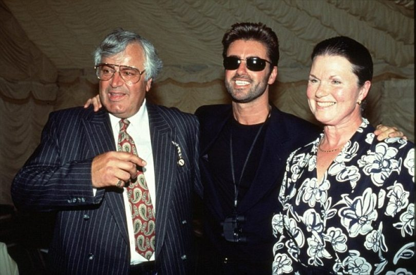 George Michael's height 4