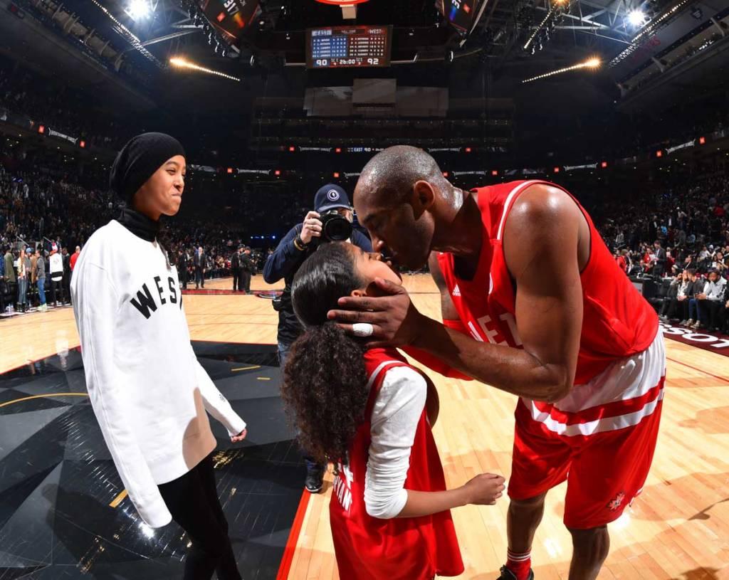 Kobe Bryant's wife 7