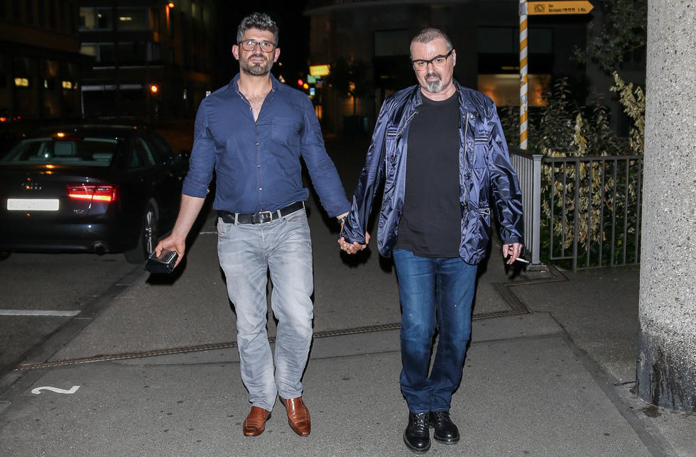 George Michael's height 3