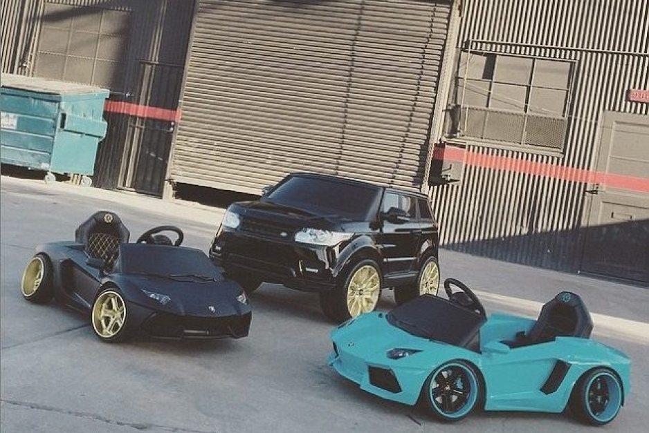 Chris Brown Cars 4