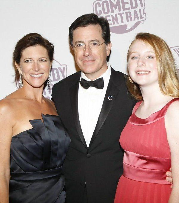Stephen Colbert's wife dp2