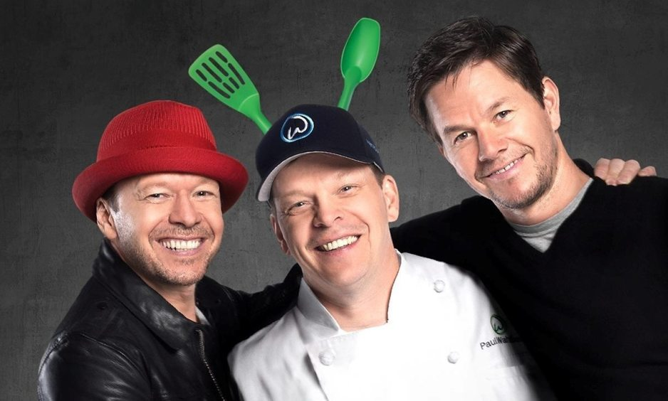 Donnie, Paul, and Mark Wahlberg