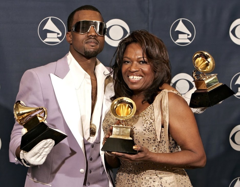 Kanye West and Mom Donna