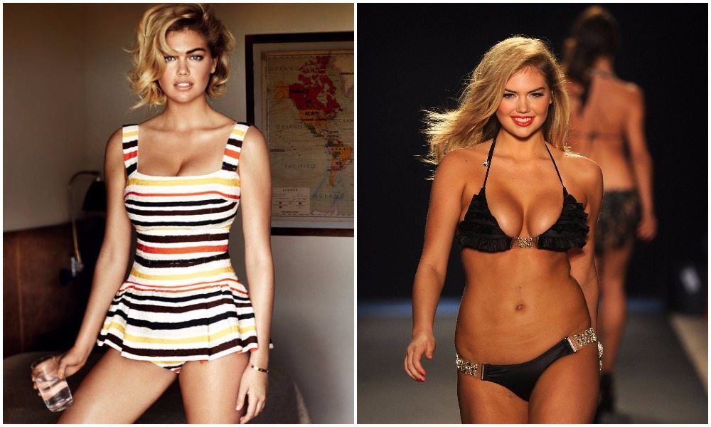 Kate Upton's height 8