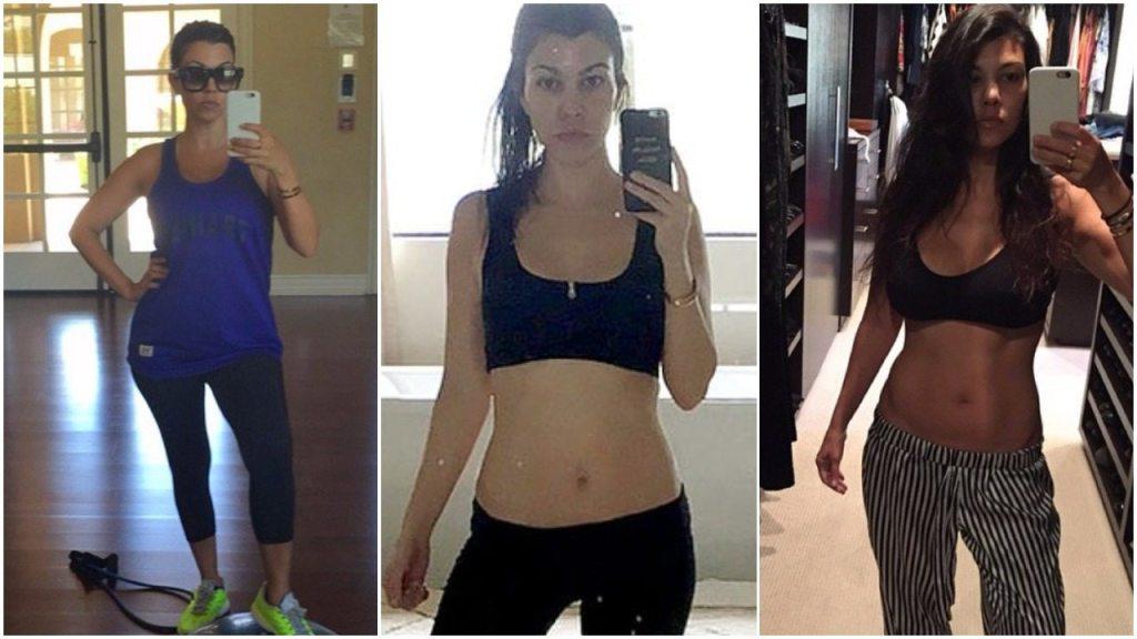 Kourtney Kardashian height weight body measurements