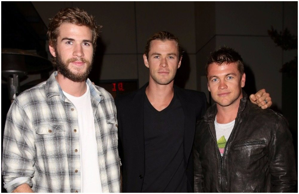Liam Hemsworth's girlfriend brothers
