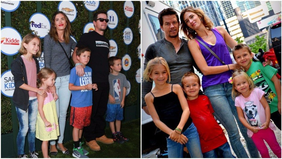 Mark Wahlberg family