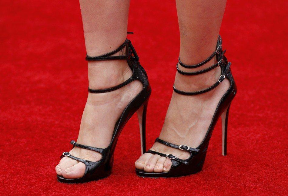 Scarlett Johansson shoe