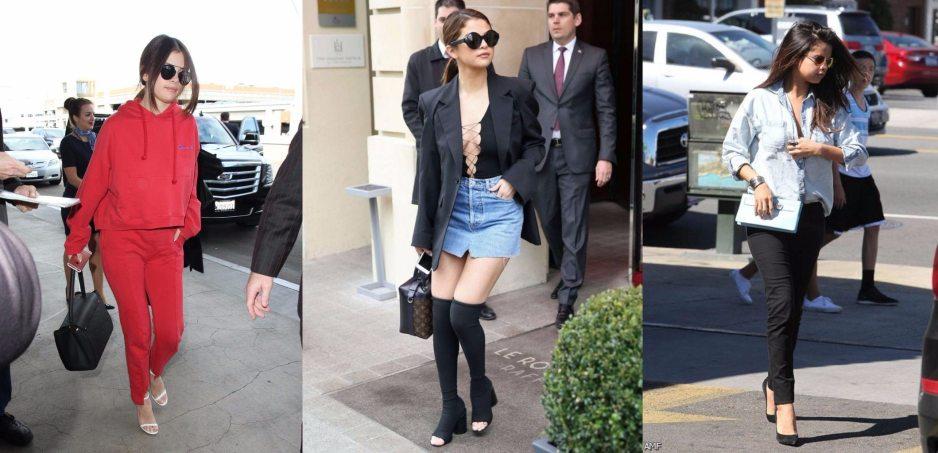 Selena Gomez Street outfit