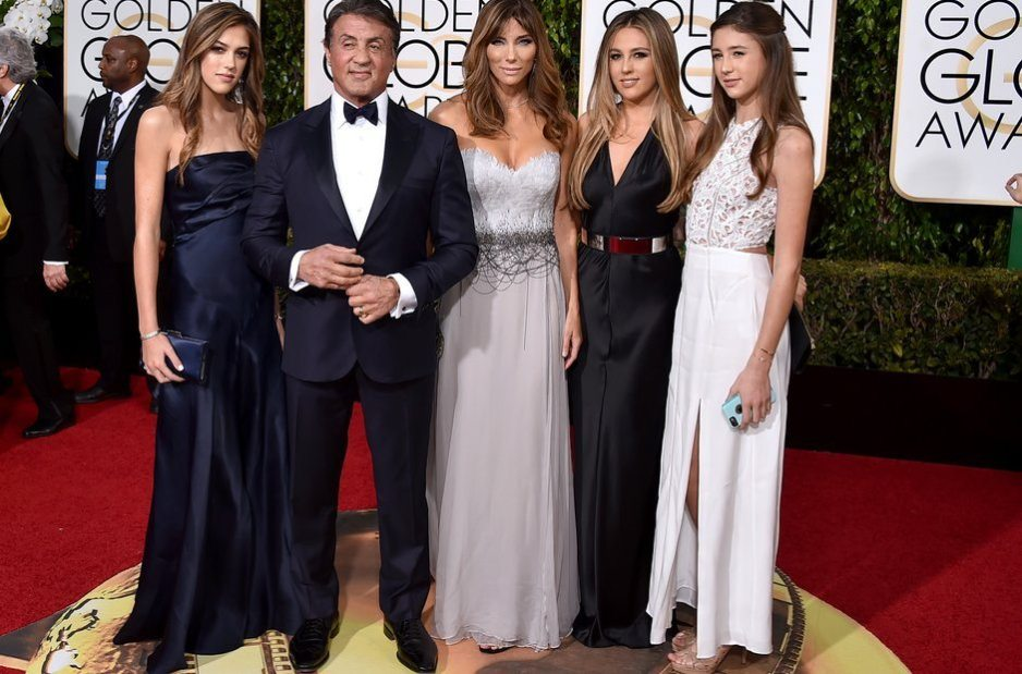 Sylvester Stallone Wife and Kids